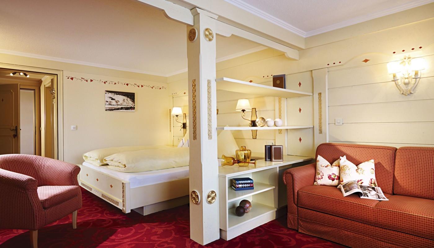 Zimmer im hotel in Lech.