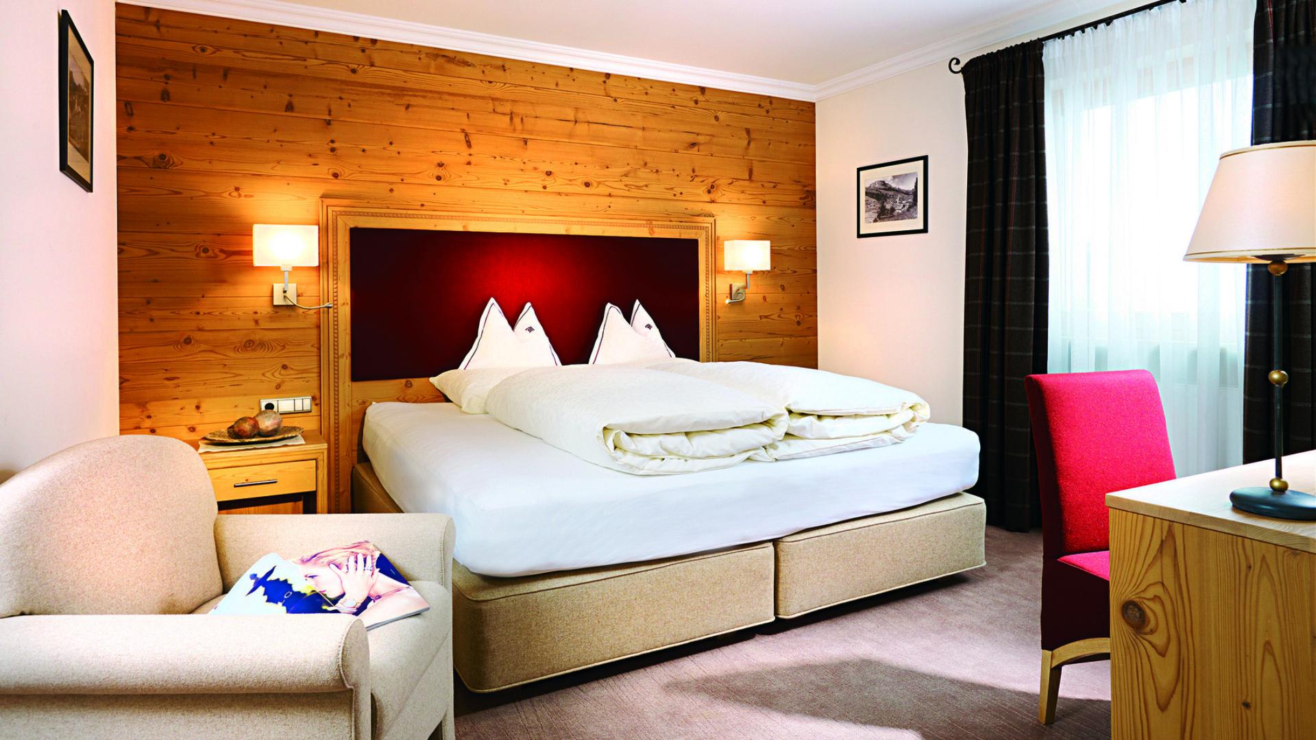 Die Suite Karhorn im Hotel und Chalet Madlochblick in Lech am Arlberg.
