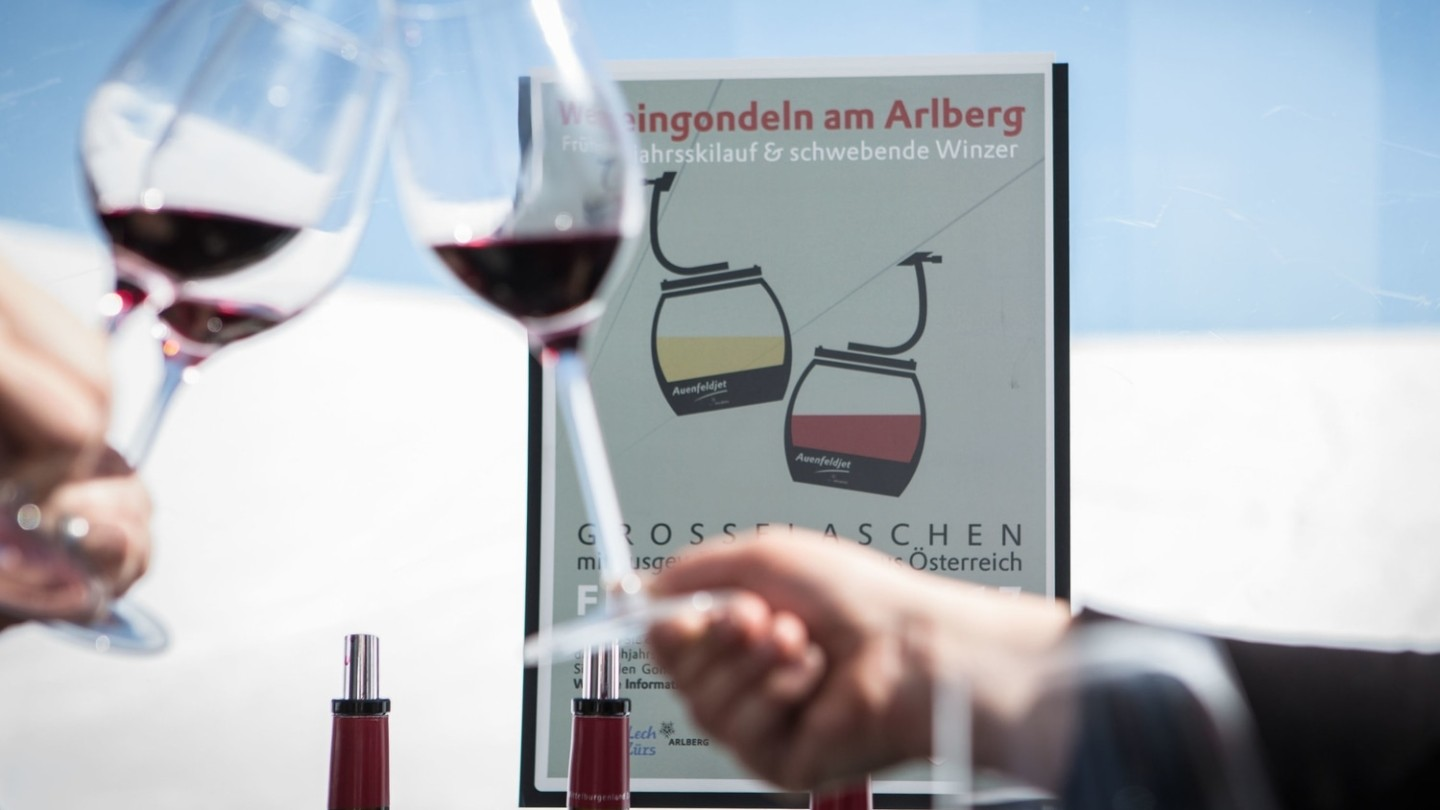 Events in Lech, Weingondeln.