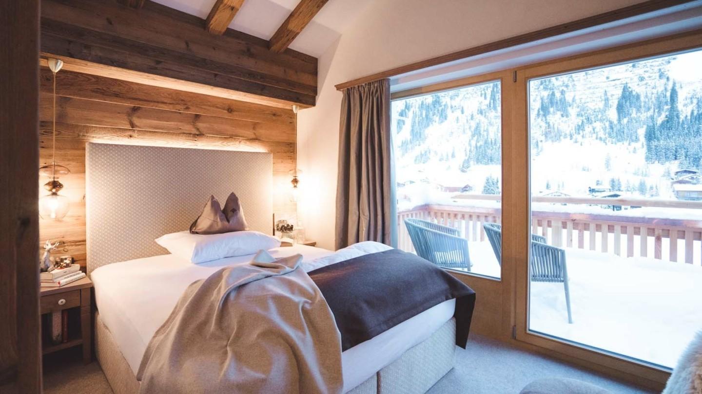 Einzelzimmer in Lech am Arlberg - EZ Schafberg