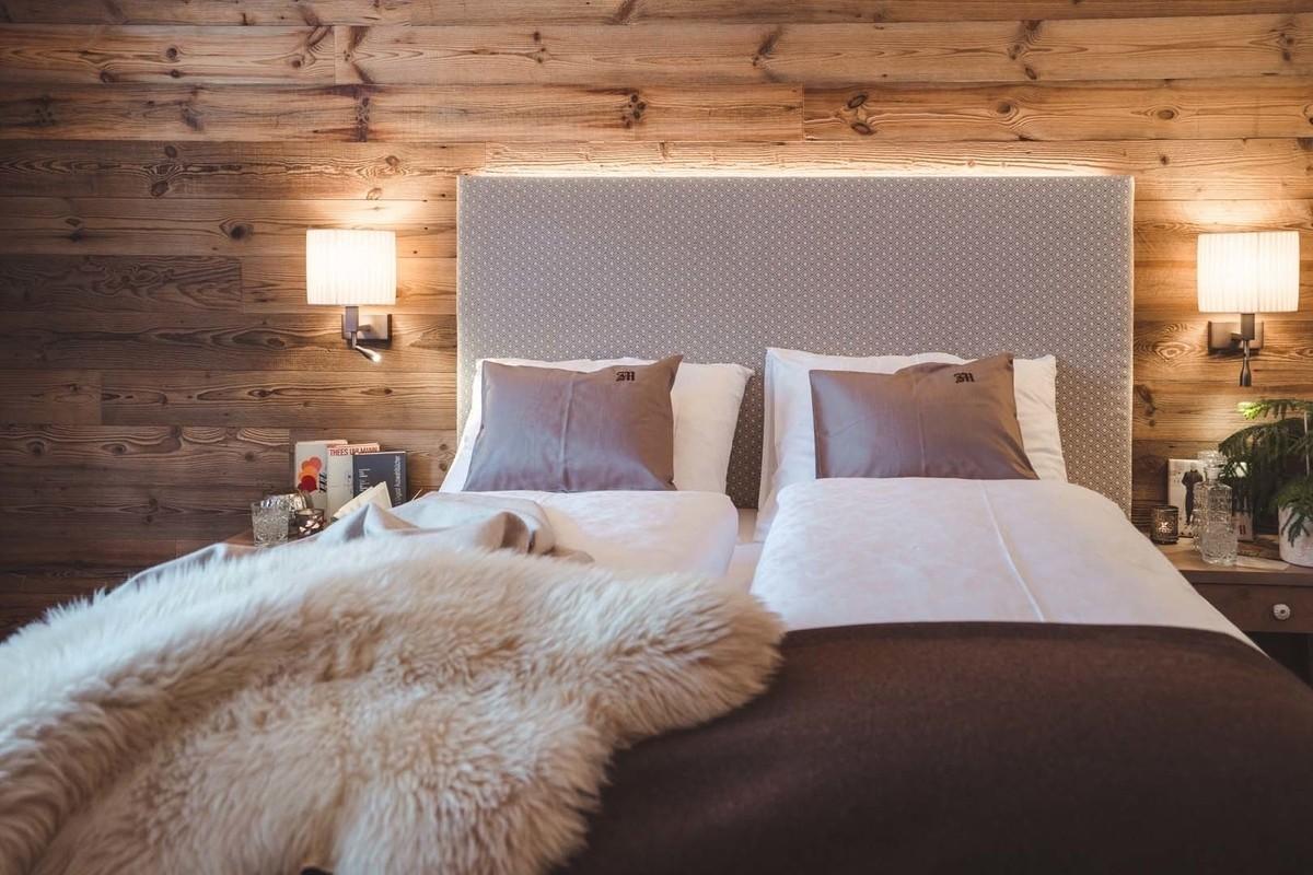 Hotelzimmer in Lech - Zimmer Lechblick